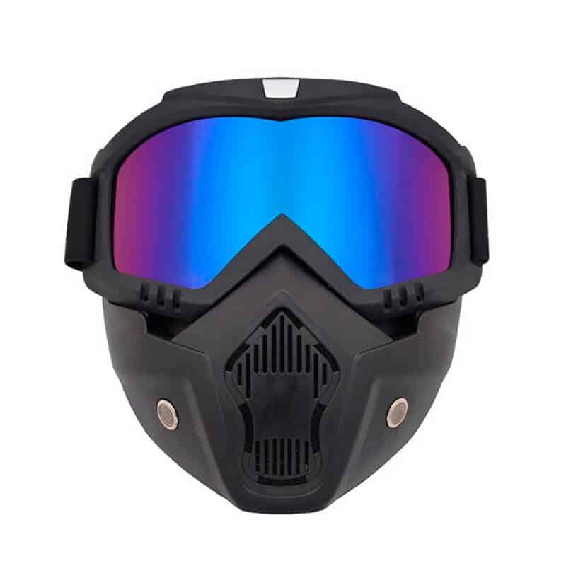 masca-protectie-fata-Edman-ND03-din-plastic-dur-cu-ochelari-ski-pentru sport-lentila-multicolor