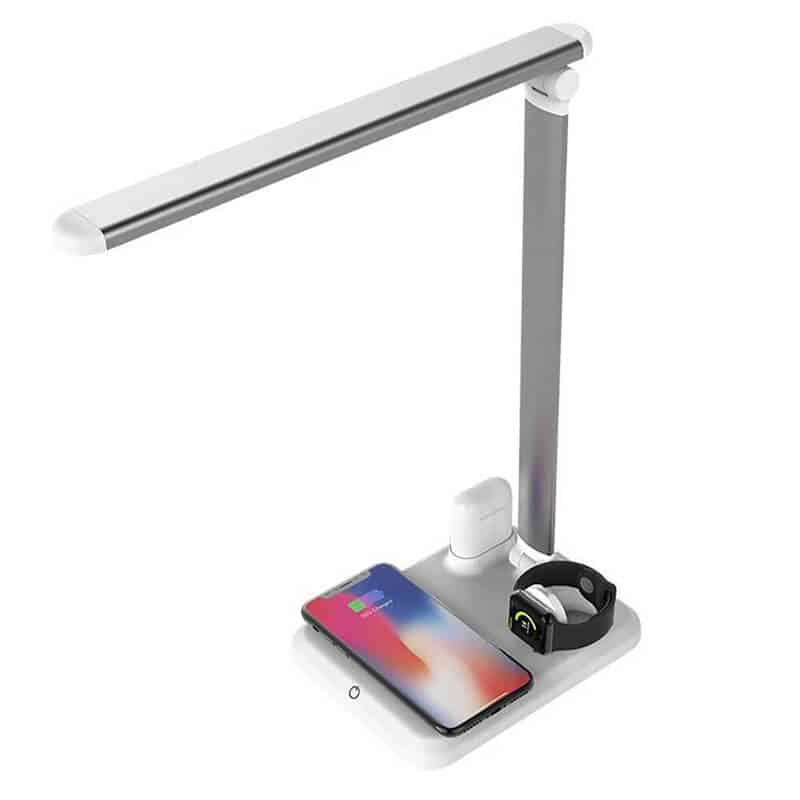 Lampa-de-birou-4-in-1-Edman-X-1-Apple-Mate-cu-functii-de-incarcare-QI-Wireless-compatibila-cu-Apple-Watch-Airpods-iPhone-Alb