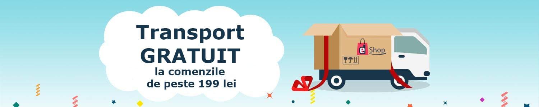 Transport gratuit pe Edshop.ro la comenzile de minimum 199 lei