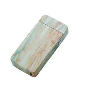 Bricheta-electrica-Edman-Marble-cu-incarcare-USB-Verde-main